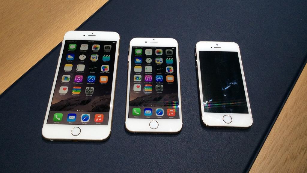 iphone 6 iphone 6 plus et iphone 5S