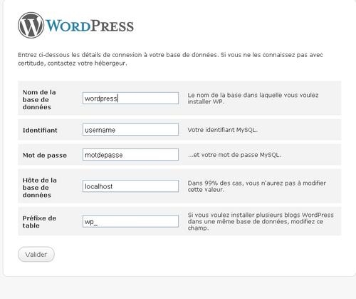 Mini tuto: installer wordpress sur un hébergement mutualisé