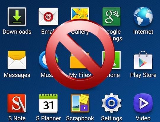 PC portable, désinstallez les logiciels de base