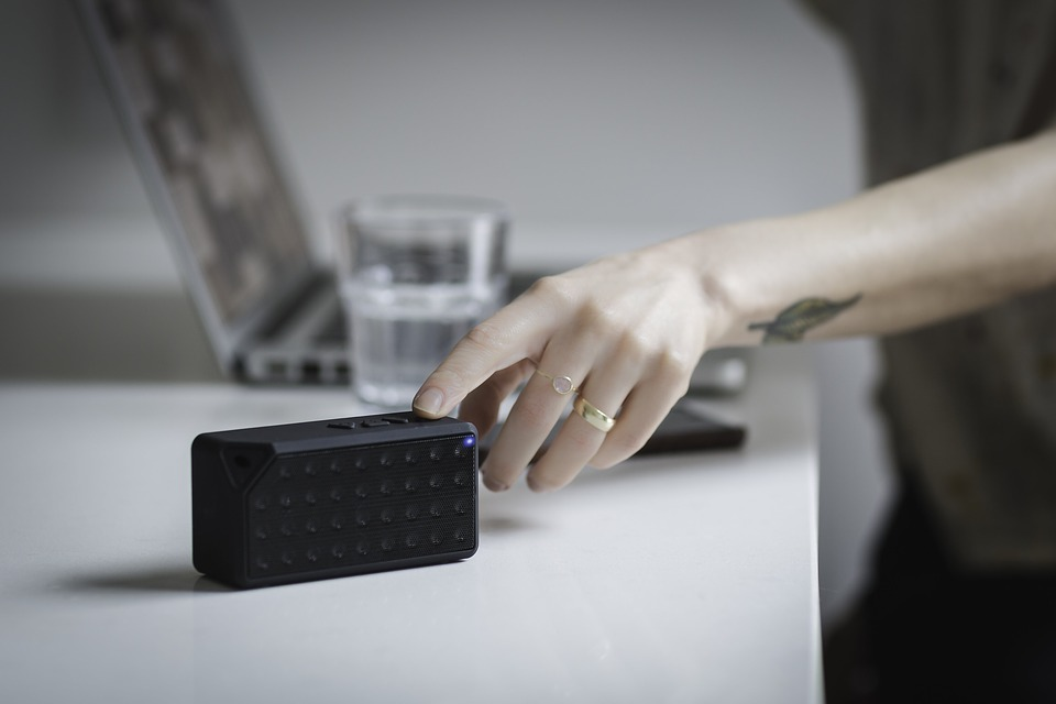 L'enceinte bluetooth