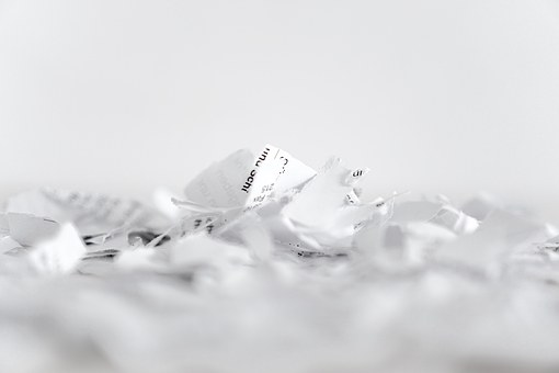 Gardez tous vos documents secrets même en les détruisant!