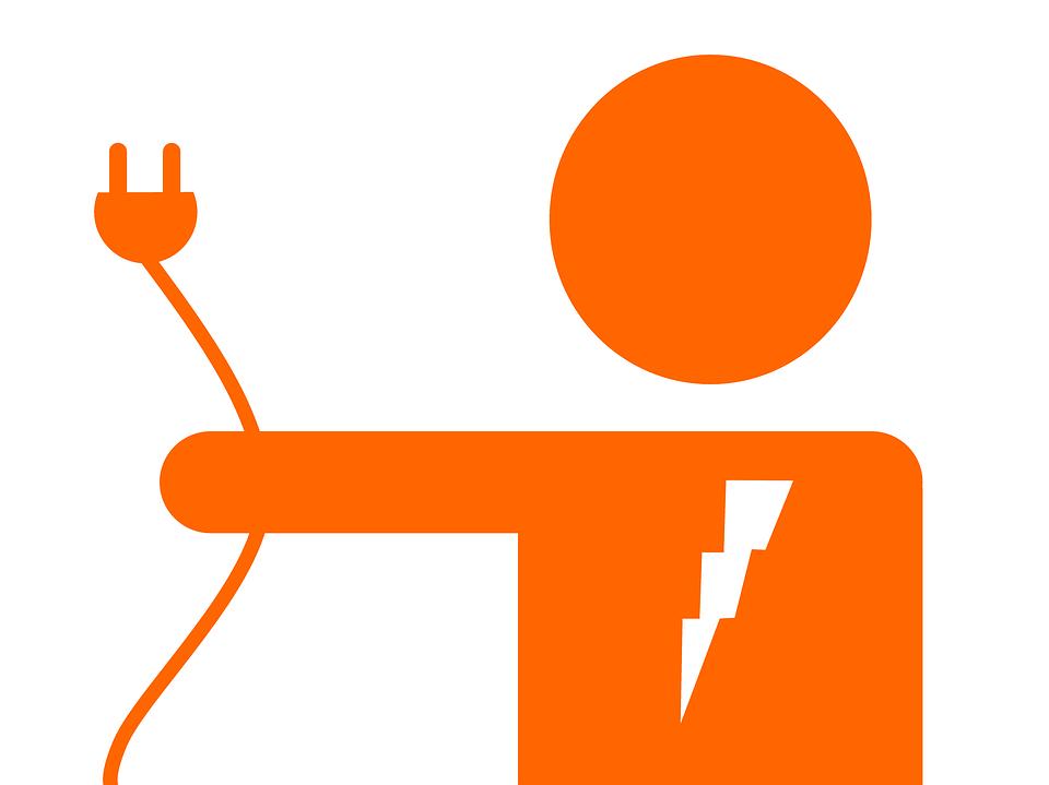 Un electricien professionnel